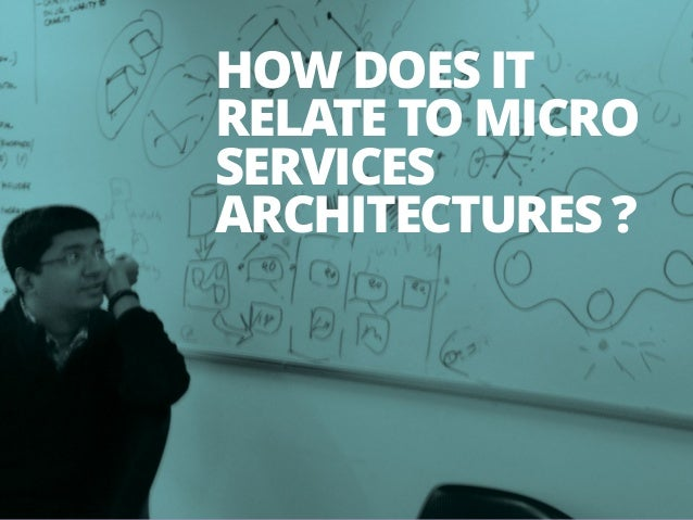 19 HOW DOES IT RELATE TO MICRO SERVICES ARCHITECTURES ?