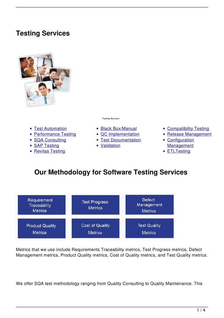 Testing Services                                          Testing Services        Test Automation                  Black B...