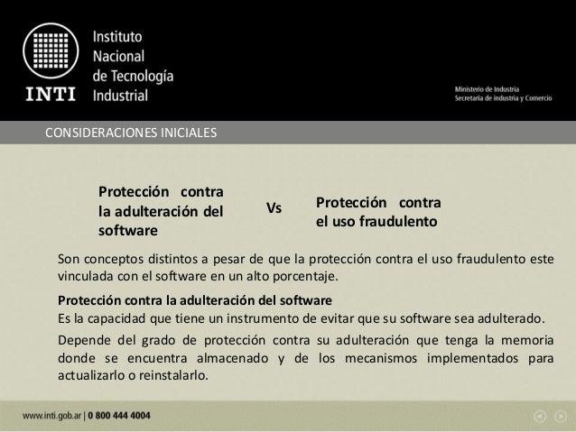 Testing de software en instrumentos de pesar de funcionamiento no automatico - Angel Vicente Nuñez Slide 2