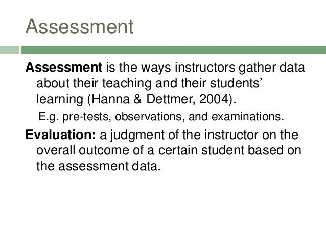 Language Assessment Types Slide 2
