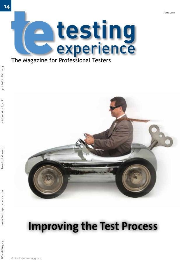 ISSN 1866-5705                    www.testingexperience.com   free digital version   print version 8,00 €   printed...