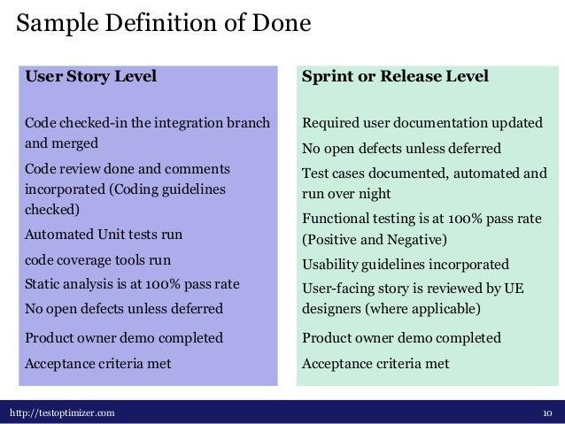 Testing In Agile Development