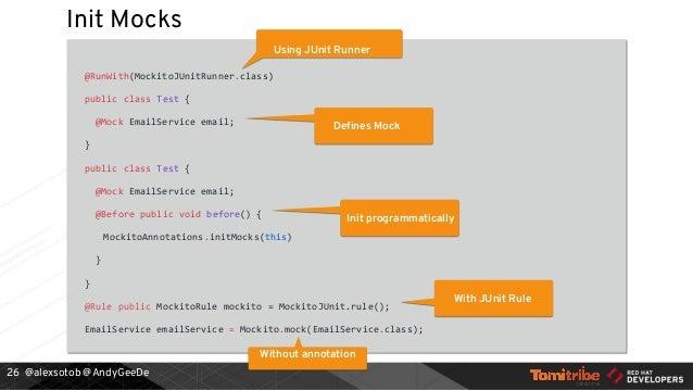 Testing Java Microservices Devoxx be 2017