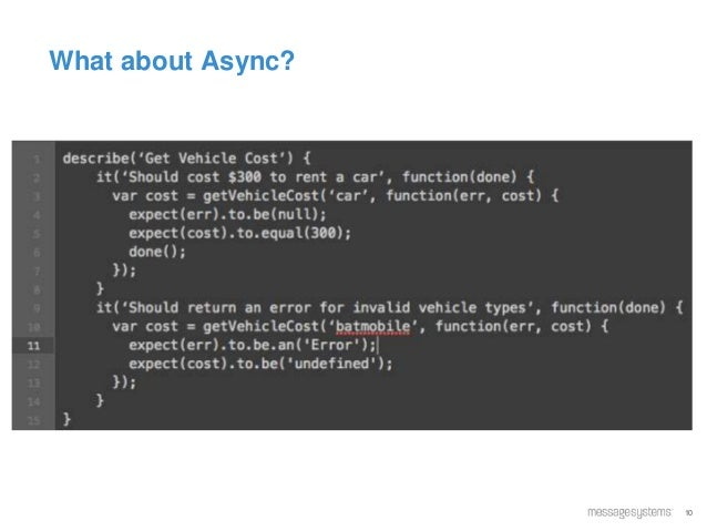 10 What about Async?