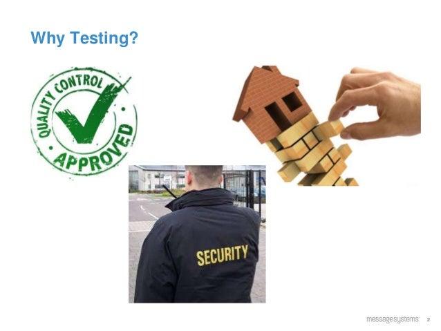 2 Why Testing?
