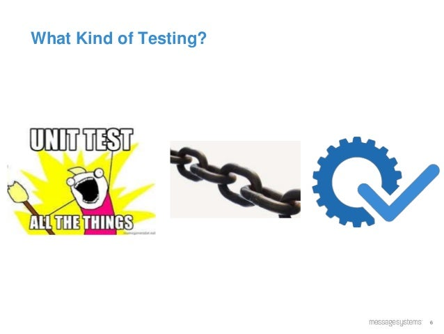 6 What Kind of Testing?