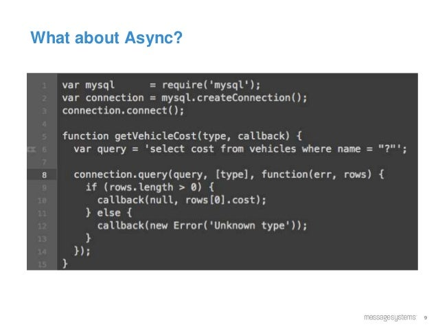 9 What about Async?