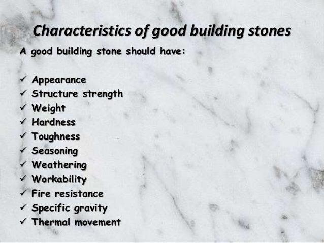 Testing Natural Stone : Testing of stones