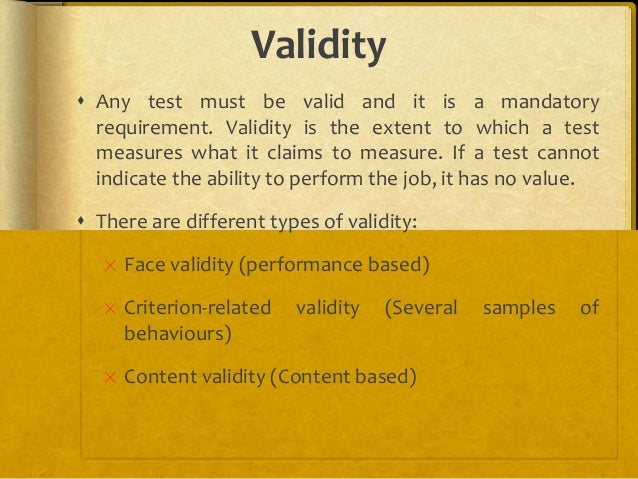 Testing and validating the hiring process ppt