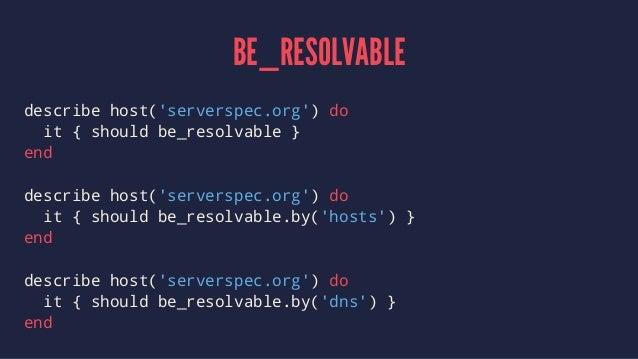Testing Servers Like Software
