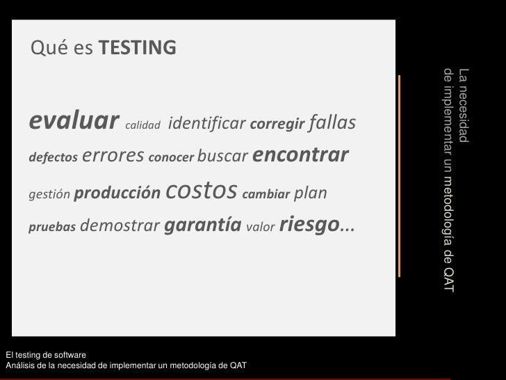 Testing Software Slide 3