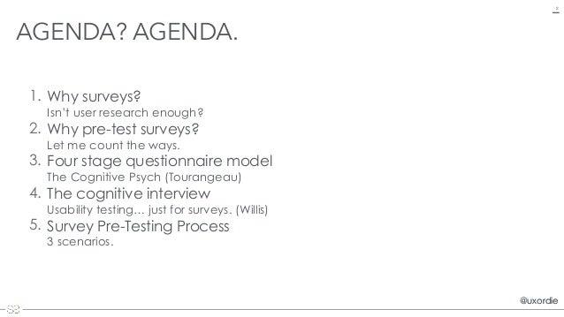 Usability Testing Online Surveys (and forms) Slide 2