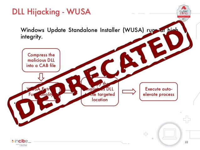 Testing UAC on Windows 10