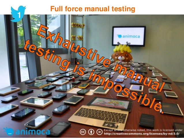 Mobile Test Automation Eco-system 22 mei 2013 18 Technique Framework Infrastructure