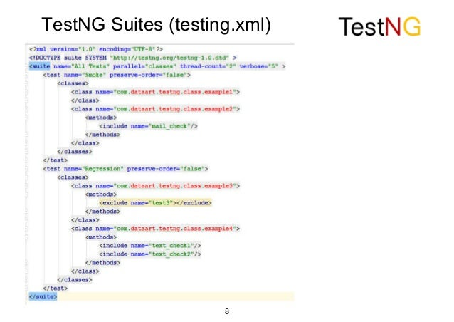 TestNG vs  JUnit