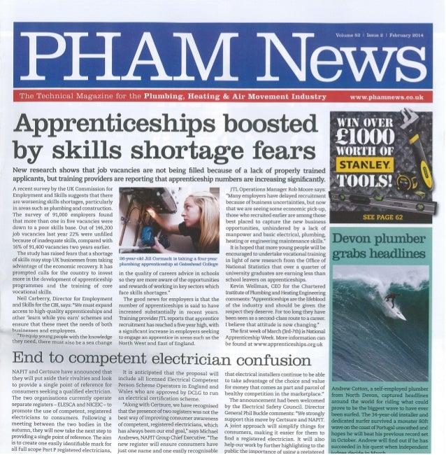 Testo - PHAM News - Feb 2014