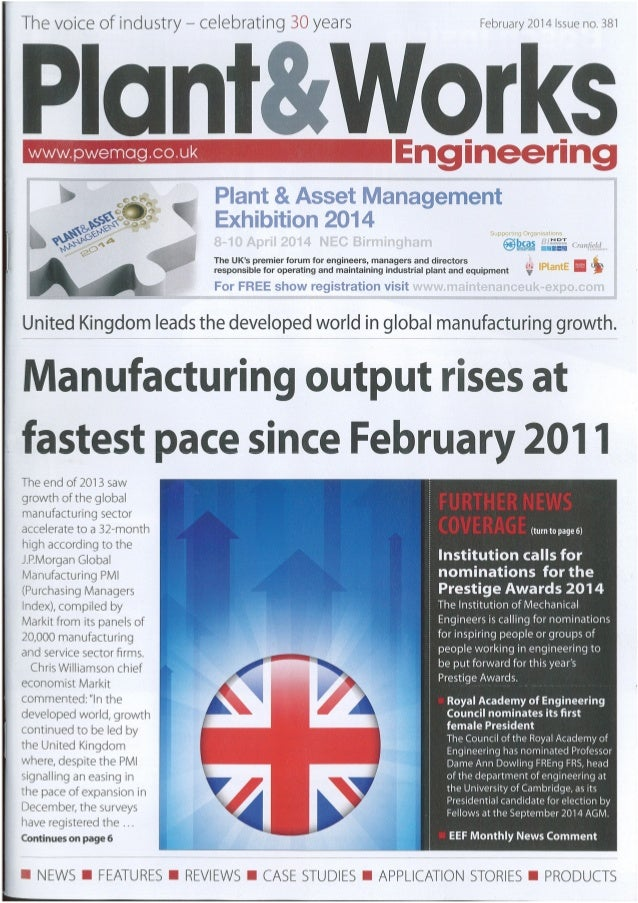 Testo - Plant and Works Engineering - Feb 2014