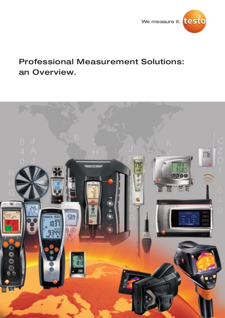 We measure it.Professional Measurement Solutions:an Overview.