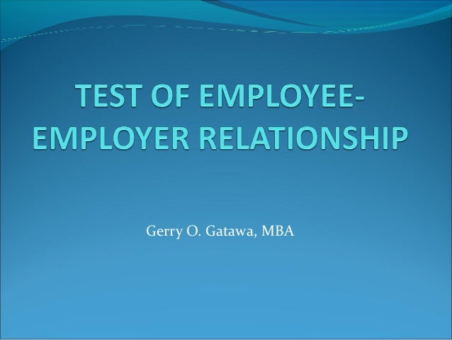 employee employer relationship quiz essay View essay - week 2 - individual - employer-employee relations quiz from mgt 434 at university of phoenix running header: employer-employee relations quiz employer-employee relations.