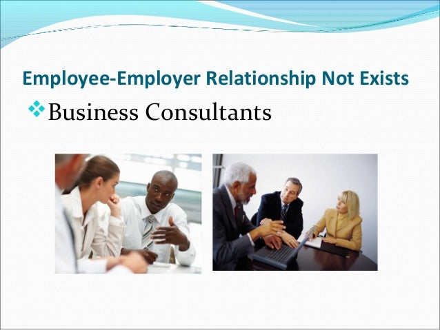 employer and employee relationship project