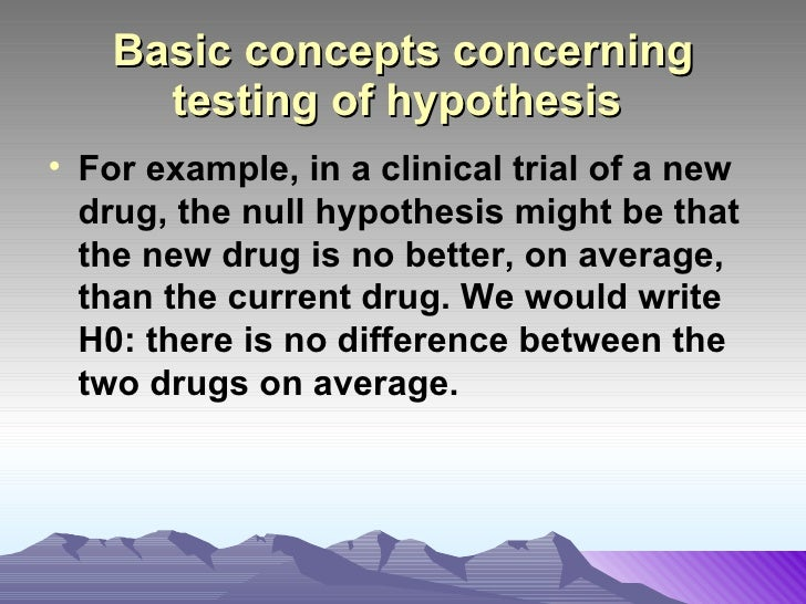 how to write a hypothesis if then because