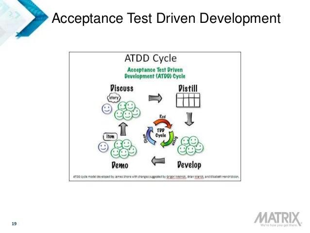 19 Acceptance Test Driven Development