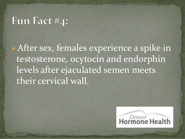 Funny sex facts