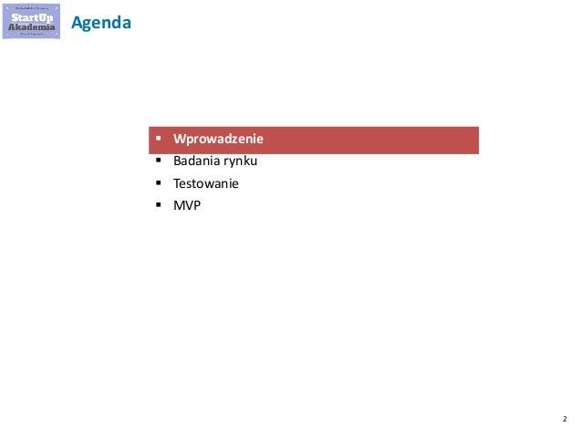 Przykłady MVP i metod badania rynku startupu Slide 2