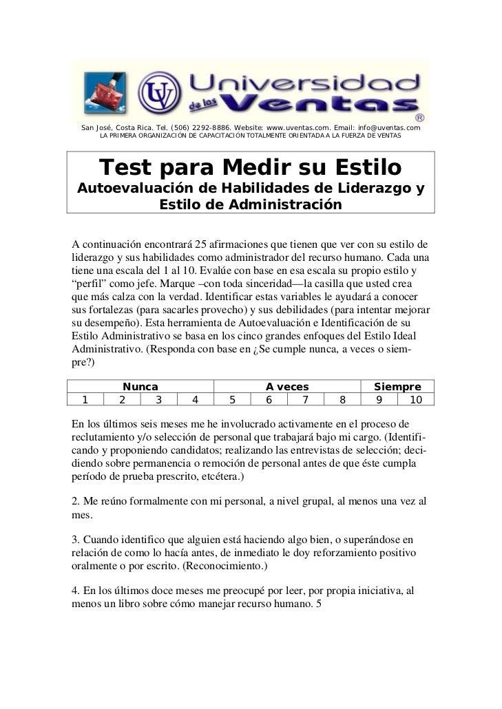 San José, Costa Rica. Tel. (506) 2292-8886. Website: www.uventas.com. Email: info@uventas.com       LA PRIMERA ORGANIZACIÓ...