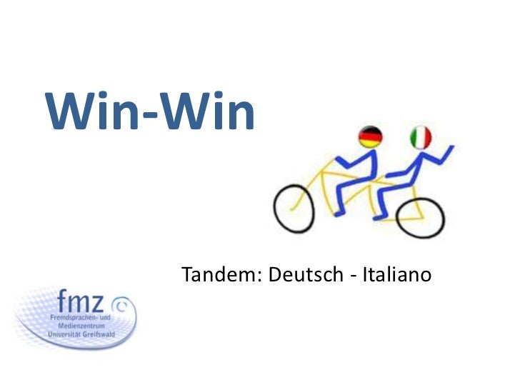 Win-Win    Tandem: Deutsch - Italiano
