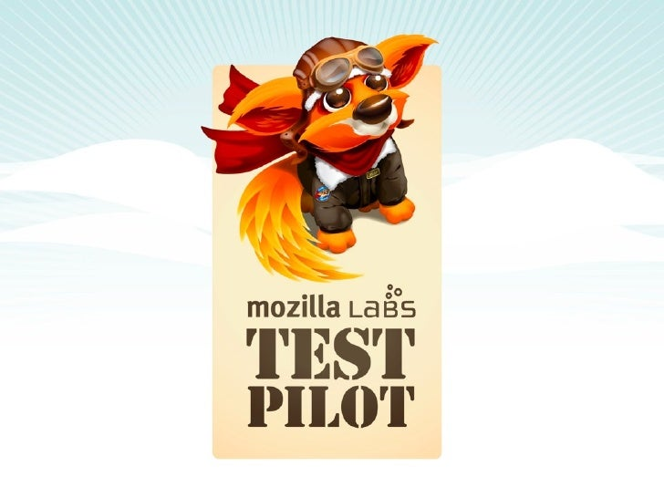 Test Pilot is a opt-in platform aims to improve the Web by collecting structured user feedback from Firefox and other Mozi...