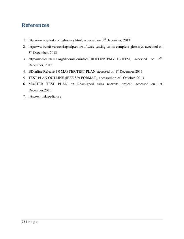 Table 6: Glossary; 23.