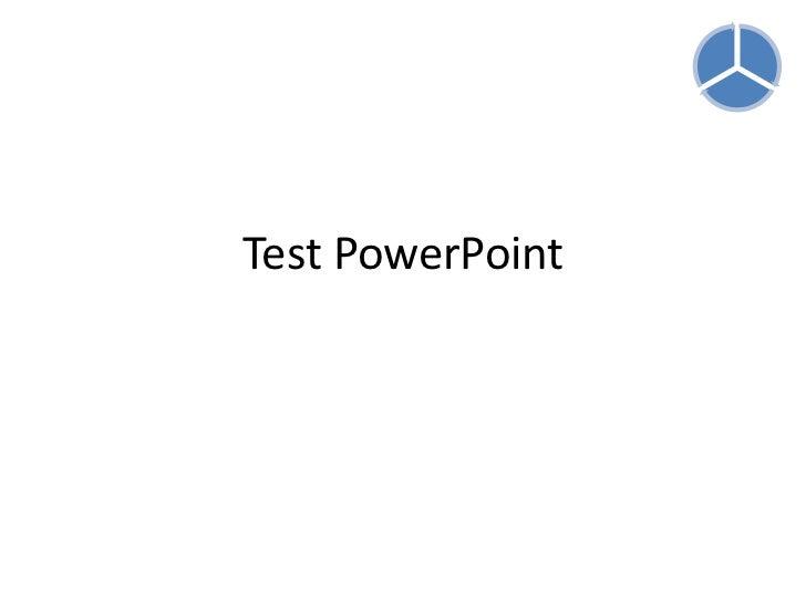 Test PowerPoint