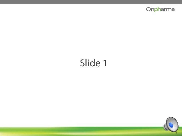 Slide 1<br />1<br />