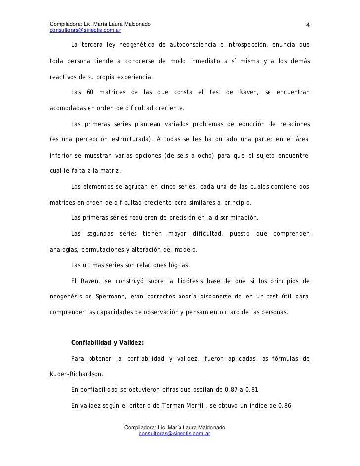Compiladora: Lic. María Laura Maldonado                                               4consultoras@sinectis.com.ar        ...