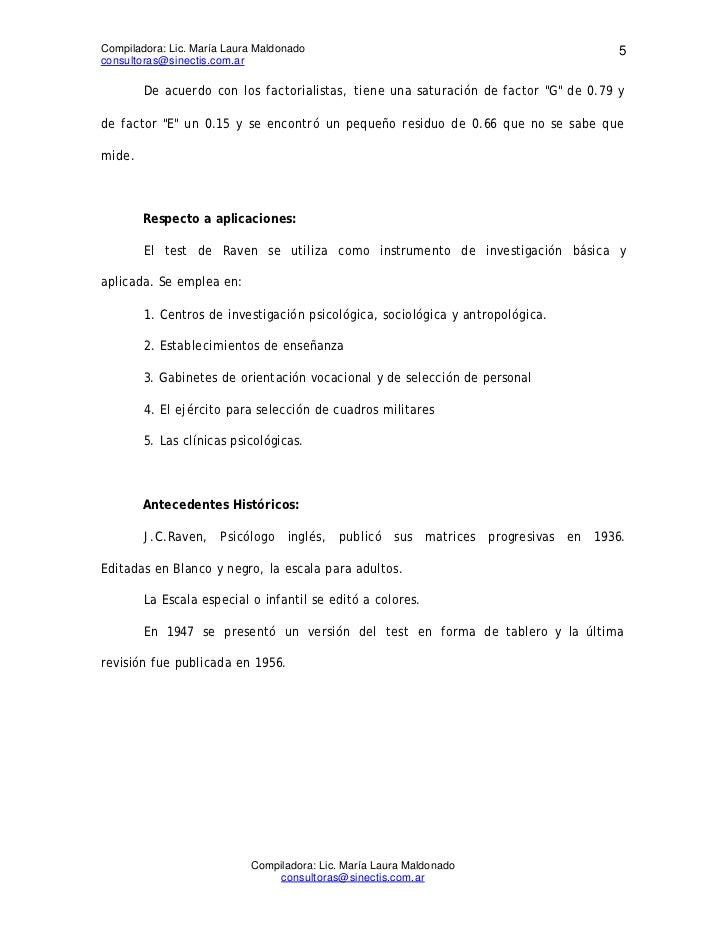 Compiladora: Lic. María Laura Maldonado                                               5consultoras@sinectis.com.ar        ...