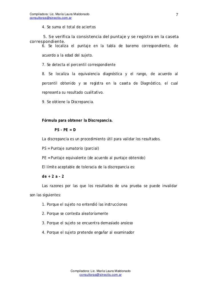 Compiladora: Lic. María Laura Maldonado                                         7consultoras@sinectis.com.ar        4. Se ...