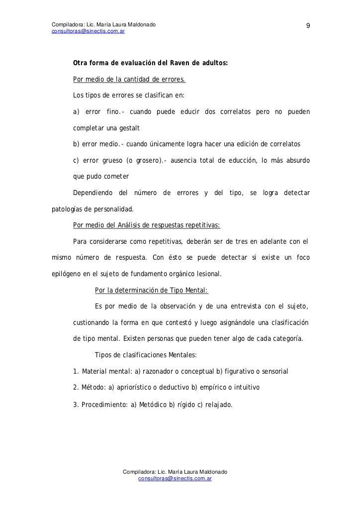 Compiladora: Lic. María Laura Maldonado                                             9consultoras@sinectis.com.ar        Ot...