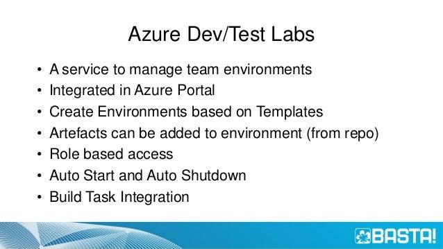 Demo Azure Dev/Test Lab