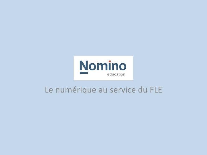 Le numérique au service du FLE
