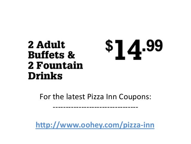 With so many delicious options, they know it's hard to choose. That's why they also offer an awesome buffet so you can feast on variety. Be sure to get great savings and discounts on your next order or purchase by taking advantage of Pizza Inn coupon codes, special offers and exclusive deals.