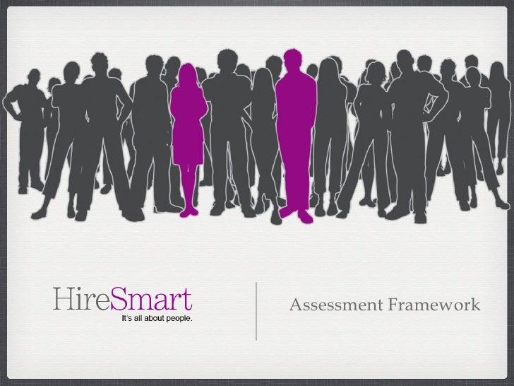 Assessment Framework Test Smart