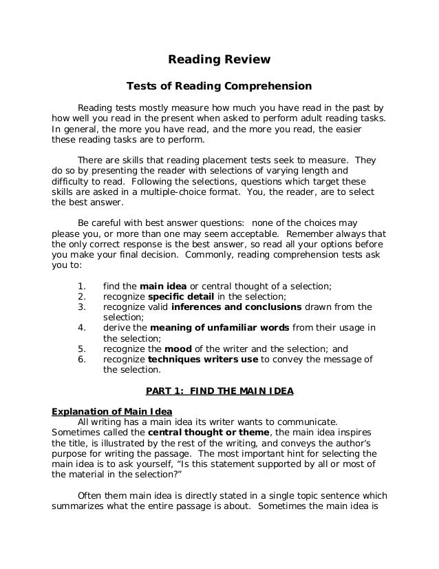 Comprehension Six Principles of Offering