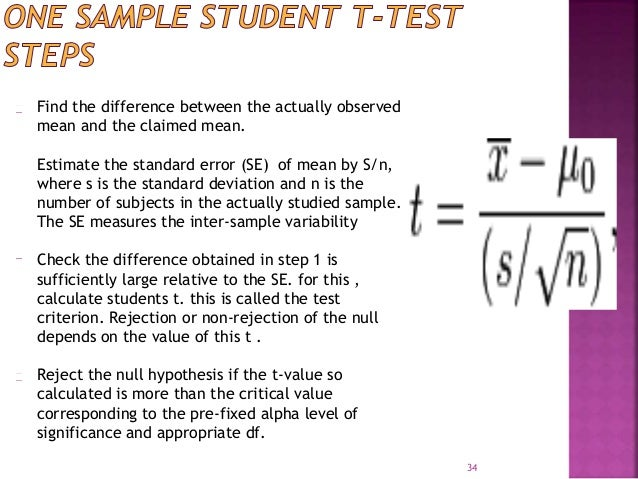 Find the difference between the actually observed  mean and the claimed mean.  Estimate the standard error (SE) of mean by...