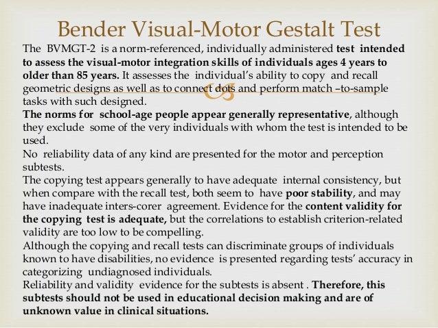 Tests Of Visual Motor Integration By Arianny Savinon Team