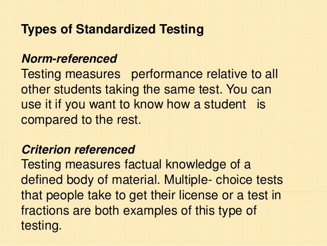 alternative viewpoints on standardized testing Alternative viewpoints on standardized testing essay service given the misleading information and expressed views of some politicians and union a 50-item standardized test can be given in an hour or so and sample.