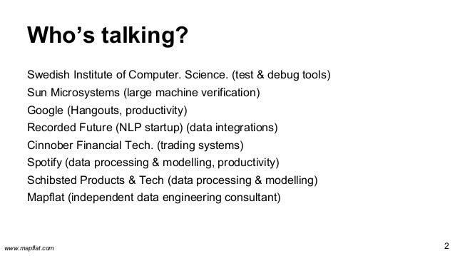 Test strategies for data processing pipelines Slide 2