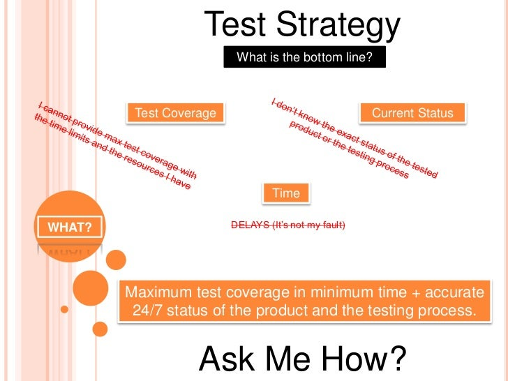 test plan and test strategy pdf