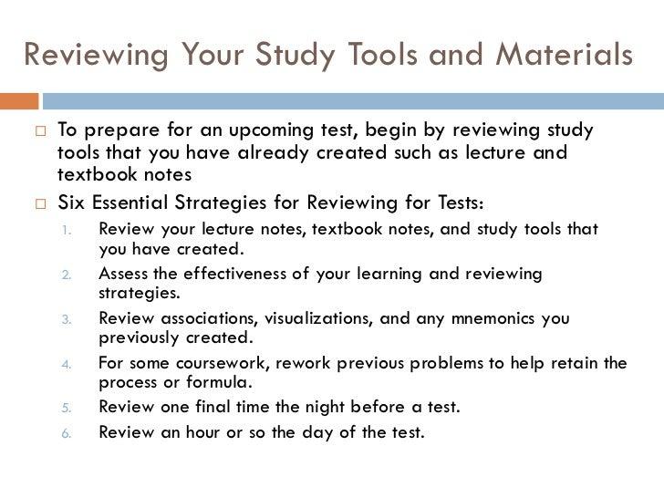 Test taking   preparation skills Slide 3