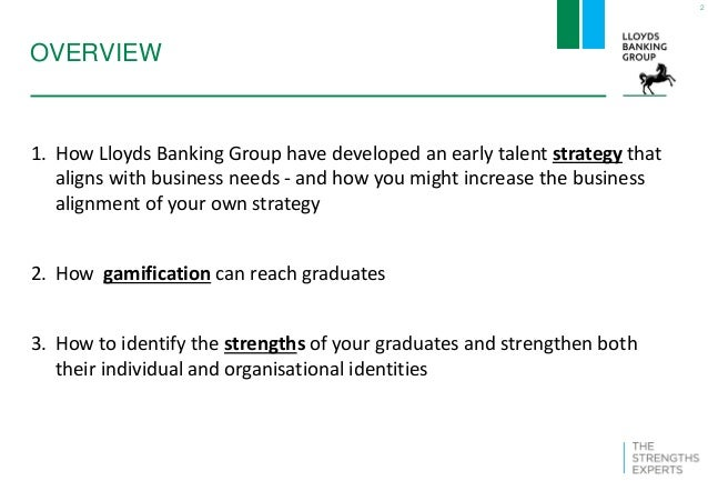 Test the 'Strength' of your graduate development - Lloyds Banking Gro…